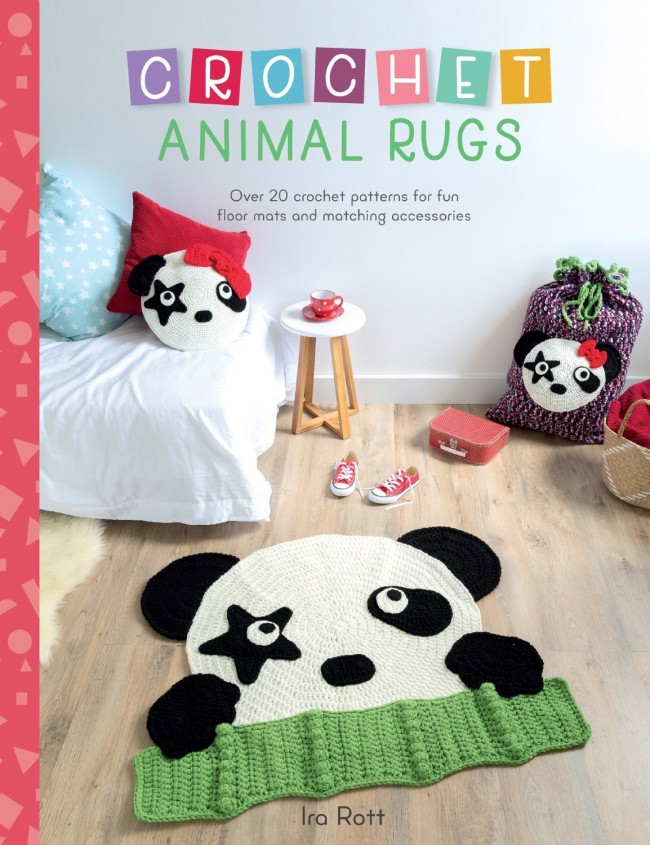 Crochet Animal Rugs Book - English