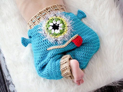 Crochet Pattern Baby Monster Pants : Silly Creatures Alien Frog and Lion Pants PDF Crochet ...