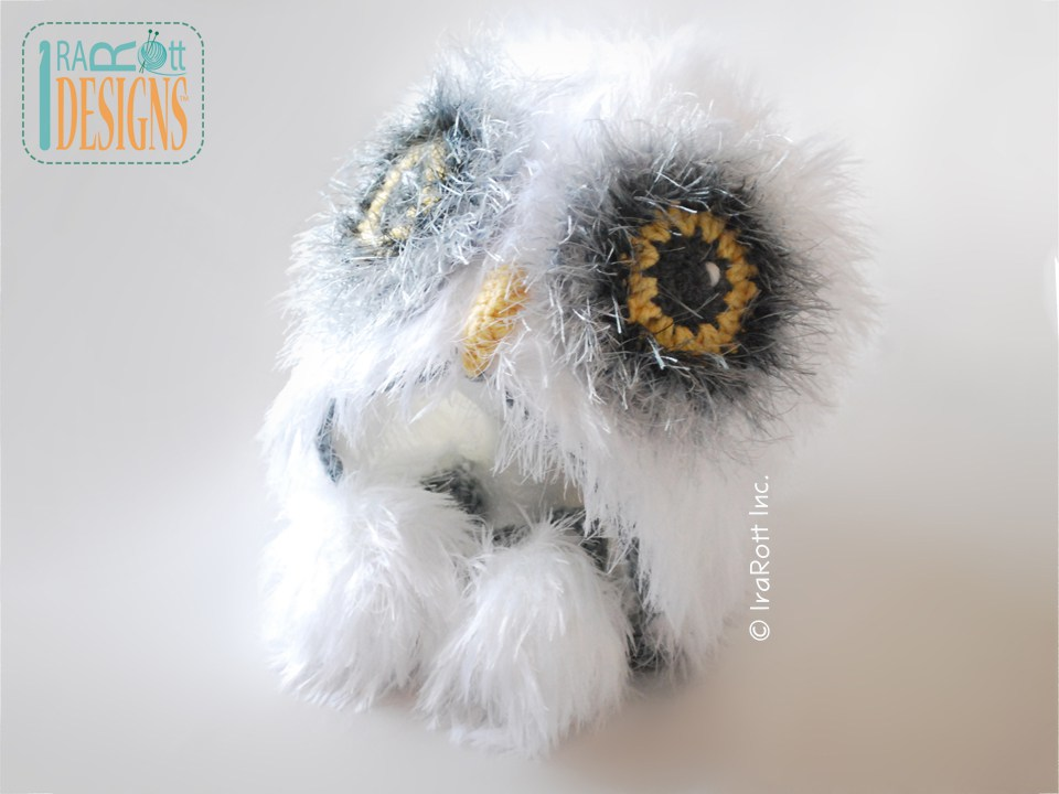 Snowy Owlet, Baby Owl Hedwig (Harry Potter) | Crochet patterns ... | 720x960