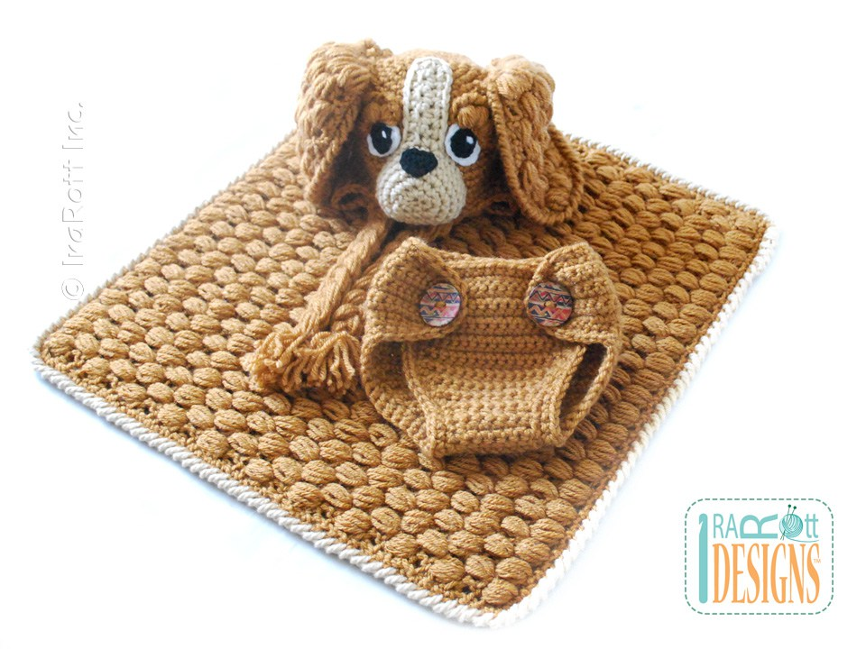 Copper The Baby Spaniel Hat With Diaper Cover And Blanket Set Pdf