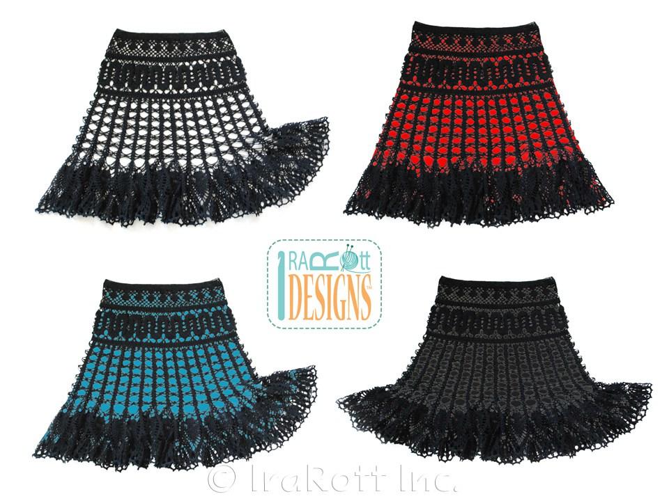 Lace Skirt Pattern 30