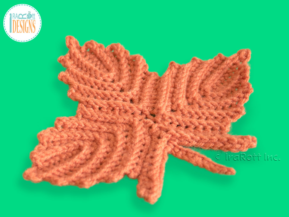 Canadian Maple Leaf Coaster or Applique PDF Crochet Pattern ...