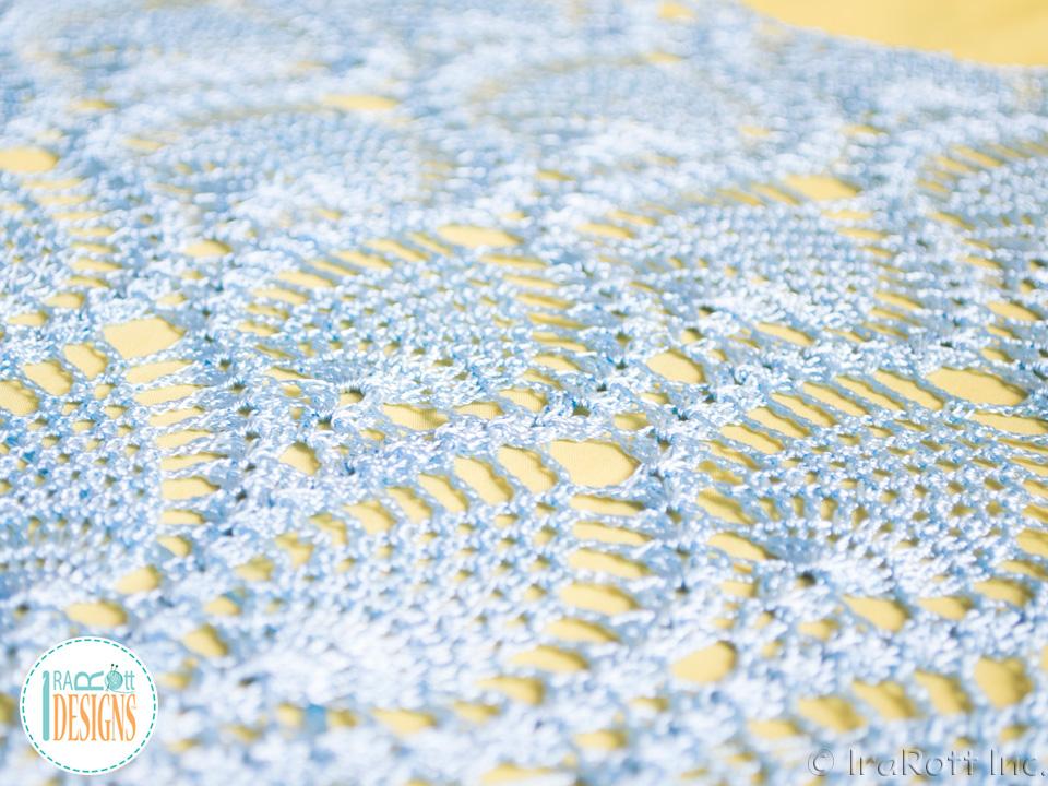 Charming Pineapples Prom Dress Pdf Crochet Pattern Irarott Inc