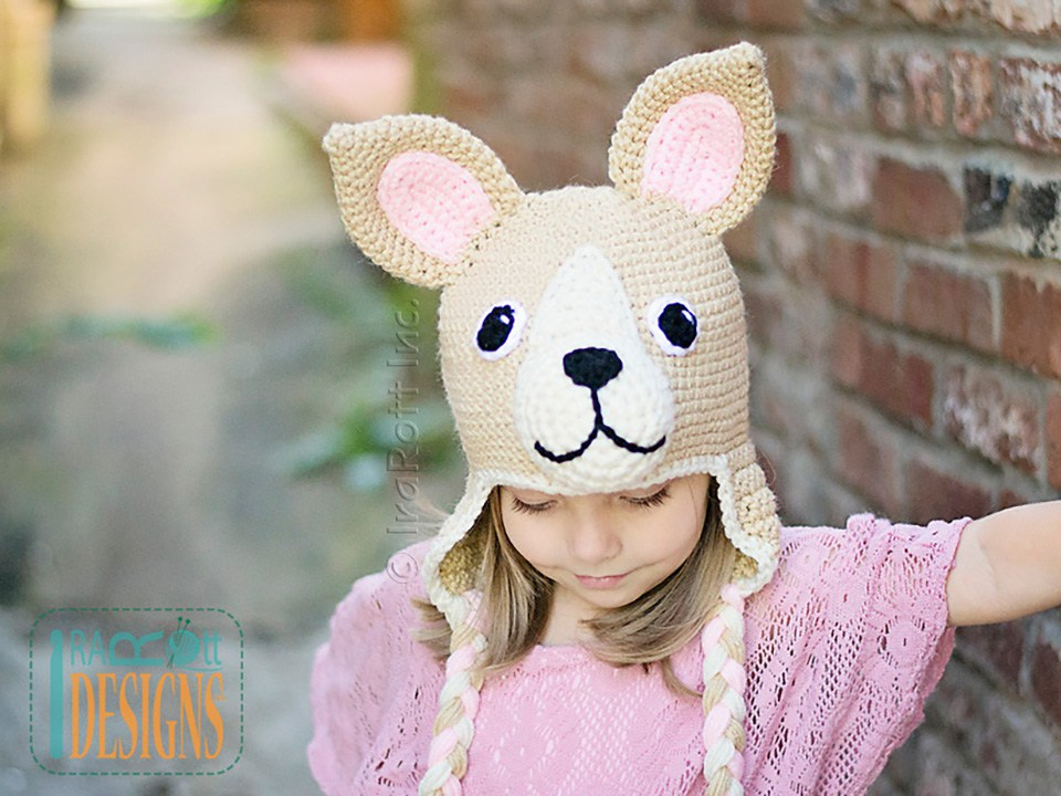 Pixie And Maxi The Chihuahua Hat Pdf Crochet Pattern Irarott Inc