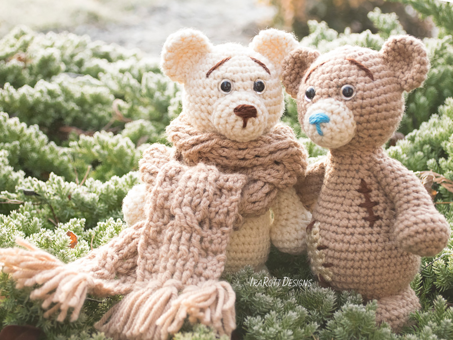 Adorable Crocheted Mini Teddy Bears [FREE Amigurumi Pattern] | 1125x1500