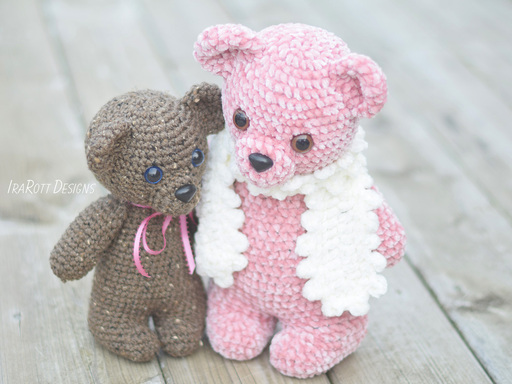 Cuddles The Chubby Little Bear Amigurumi PDF Crochet Pattern With Instant Download by IraRott