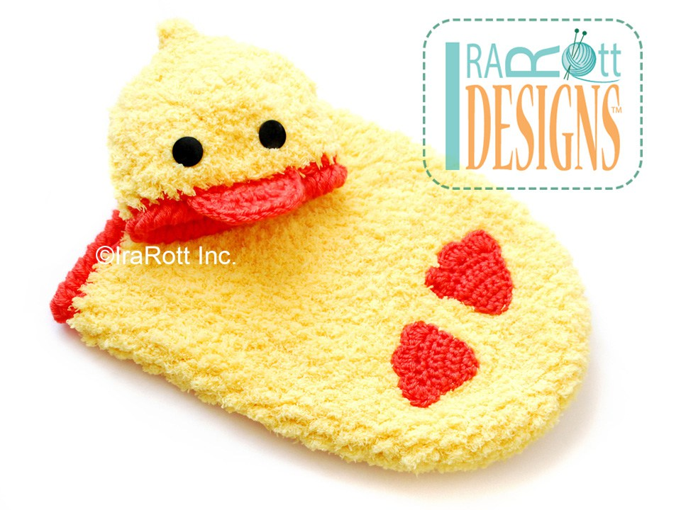 Quacky Easter Ducky Baby Hat and Cocoon Set PDF Crochet Pattern ...