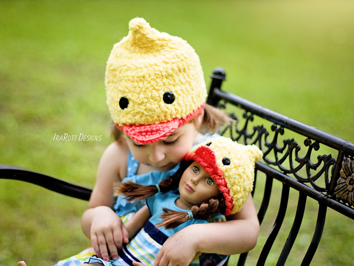 Duck Animal Hat Crochet Pattern for boys and girls of all ages