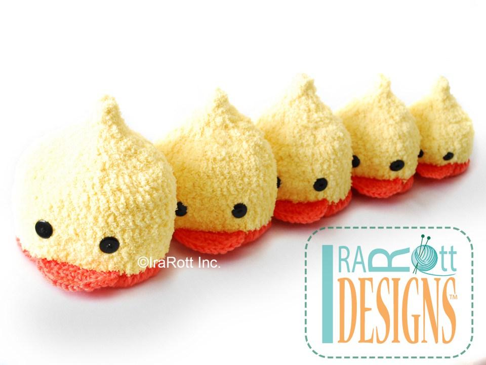 Quacky Ducky Beanie Hat Pdf Crochet Pattern Irarott Inc