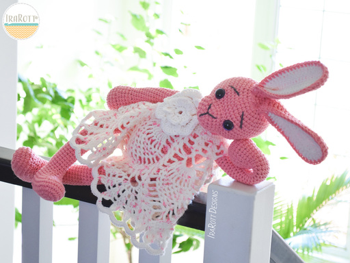 Sunny The Princess Bunny Amigurumi PDF Crochet Pattern With Instant Download by IraRott