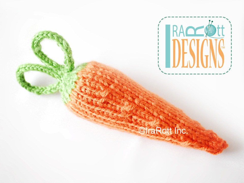 Knitting Pattern Rabbit Hat : Bunny rabbit hat and cocoon set with carrot pdf knit pattern