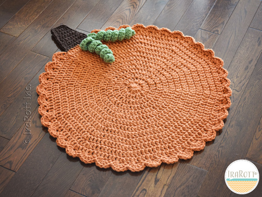 Family Gathering Rug or Seasonal Table Decorations FREE Crochet Pattern With Instant Download by IraRott