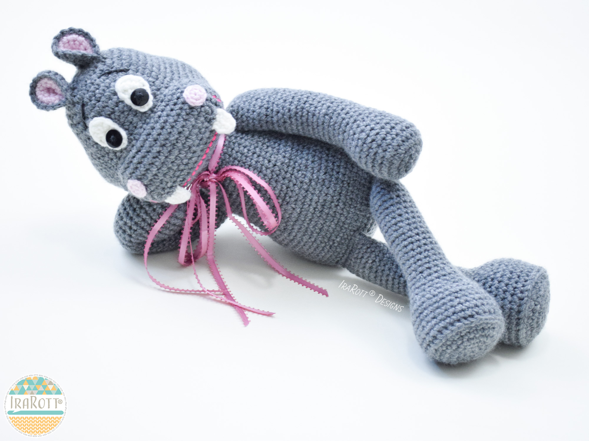 Happy Hippo The Hippopotamus Amigurumi Toy Stuffed Animal Pdf