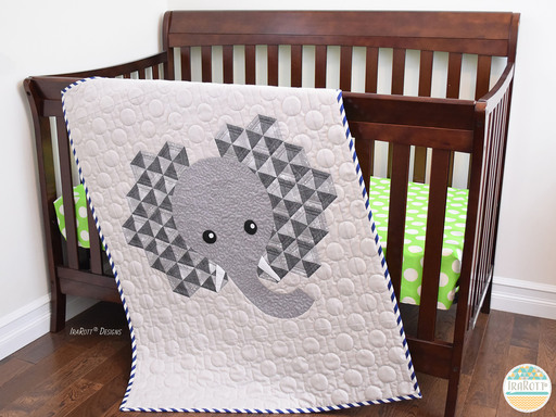 Josefina and Jeffery Elephant Quilt Pattern