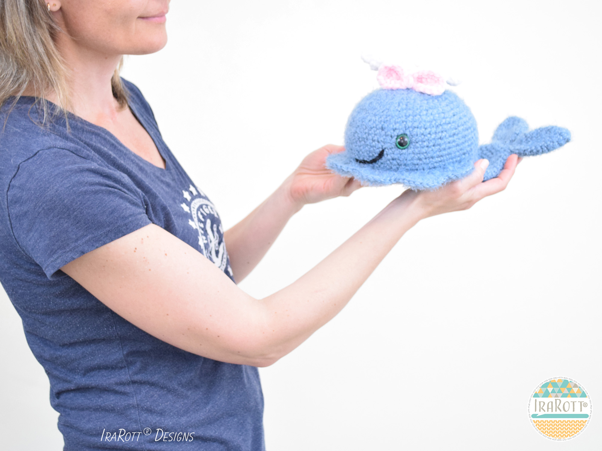 Willy and Nelly the whale cousins amigurumi pattern ...   1500x2000