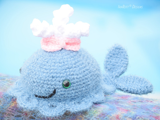 Joyce And Justin The Chubby Little Whales Amigurumi PDF Crochet Pattern With Instant Download by IraRott