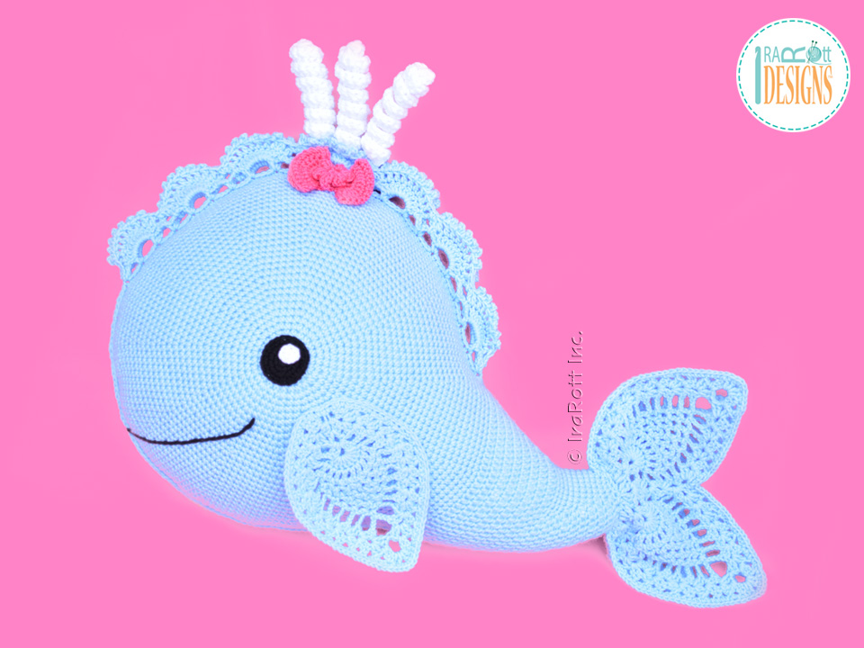 """钩针""""鲸鱼""""系列 - maomao - 我随心动"""