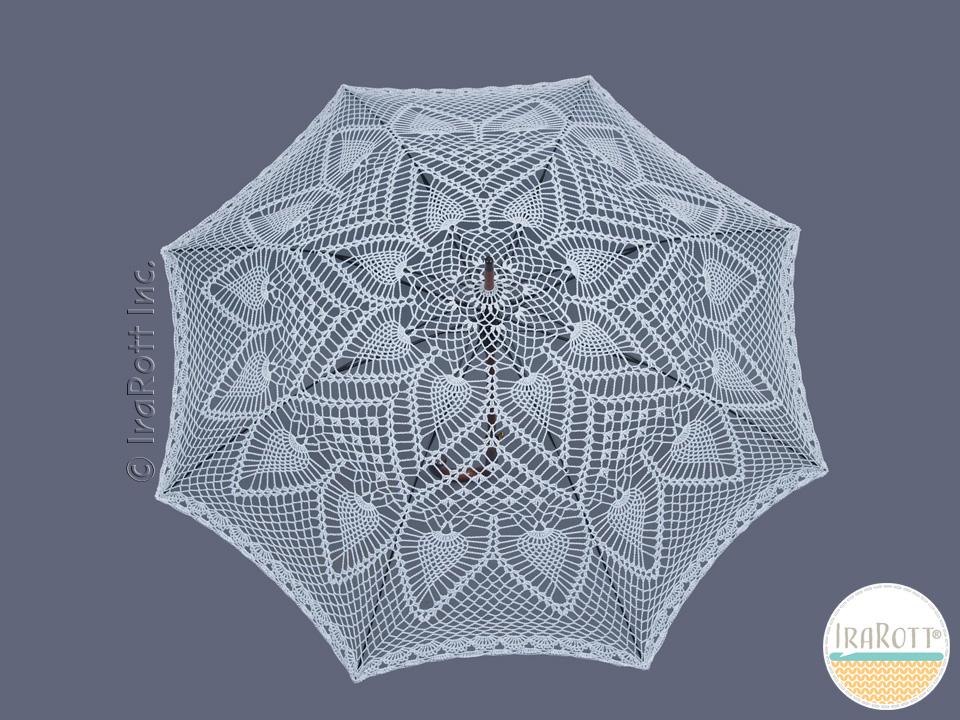 Pineapple Lace Parasol Pdf Crochet Pattern Irarott Inc