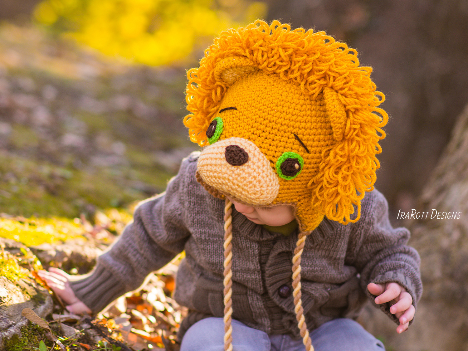 Lion Leonardo Hat With Tail Crochet Pattern Pdf Irarott Inc