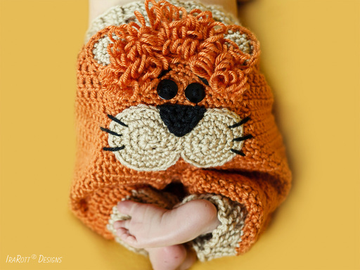 Lion Leonardo Pants PDF Crochet Pattern With Instant Download by IraRott