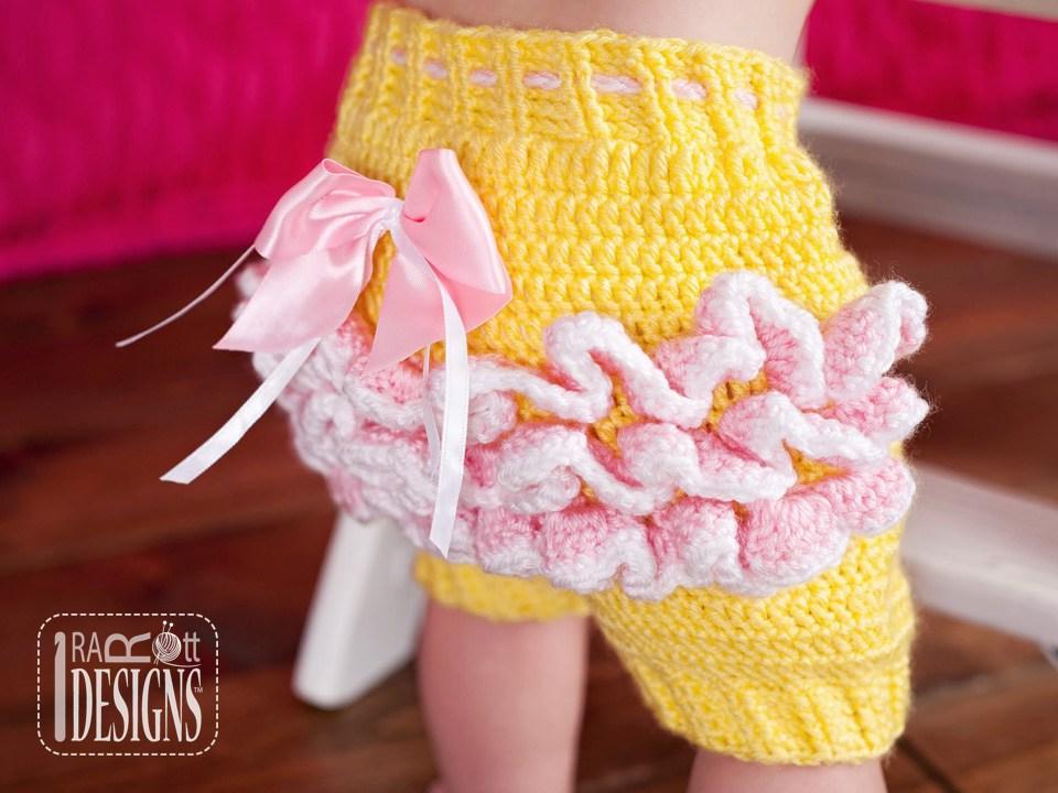 Fiesta Owl Pants And Ruffled Bloomers Pdf Crochet Pattern Irarott Inc