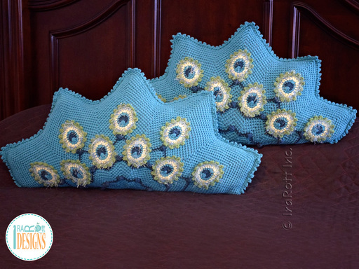Crochet pattern PDF for making a beautiful peacock animal pillow or peacock feather cushion