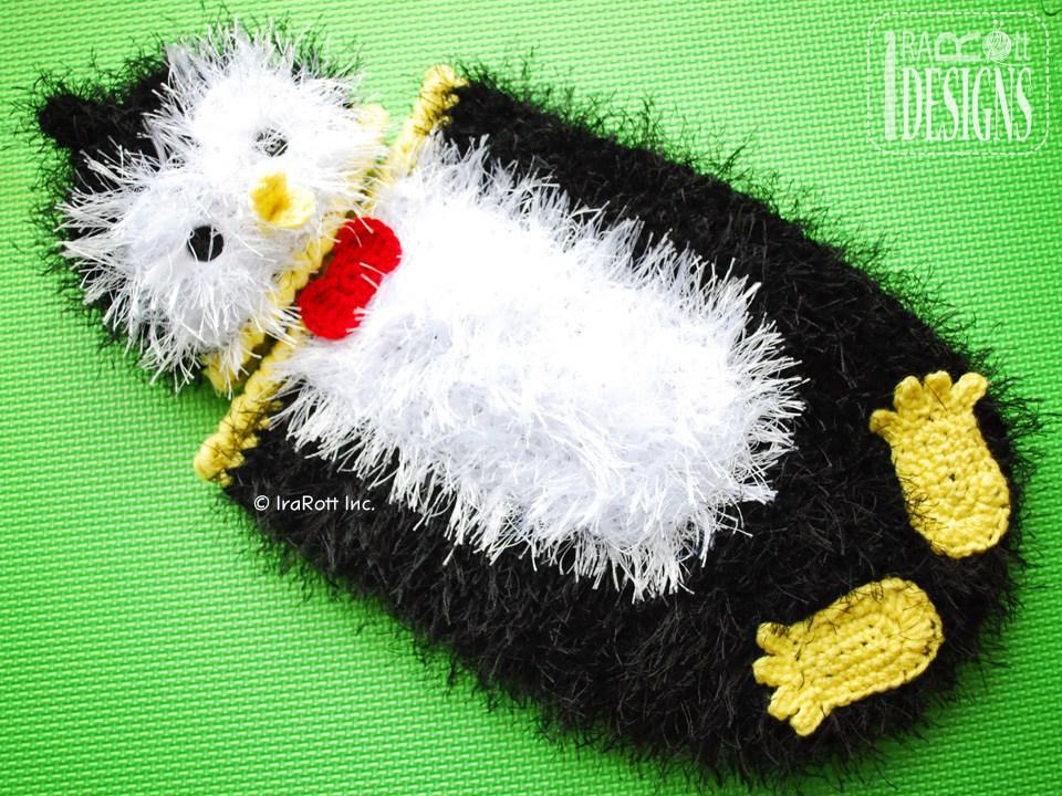Happy Penguin Baby Hat And Cocoon Set Pdf Crochet Pattern Irarott Inc