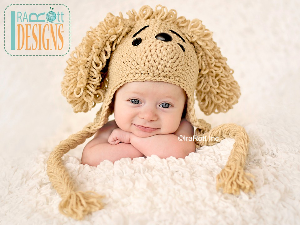 Crochet Dog Hat And Diaper Cover Pattern : Crochet Puppy Hat Pattern Dog Breeds Picture