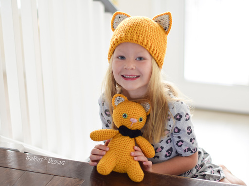 Pumpkin The Cat And Hat PDF Crochet Pattern With Instant Download by IraRott
