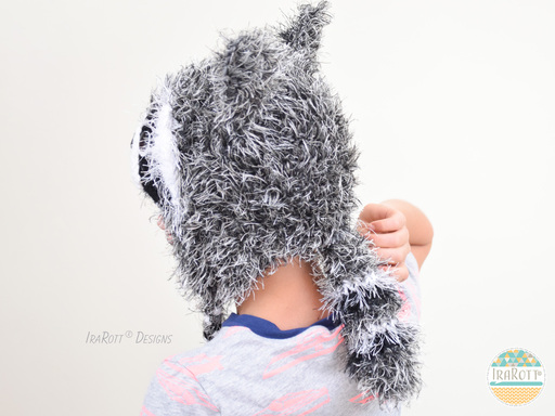 Rocky and Ricki The Raccoon Tail PDF Crochet Pattern With Instant Download by IraRott