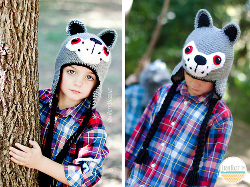 Rolf The Wolf Hat PDF Crochet Pattern With Instant Download by IraRott
