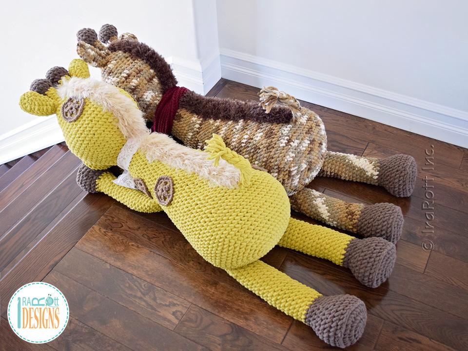 Rusty The Giraffe Big Amigurumi Pdf Crochet Pattern Irarott Inc