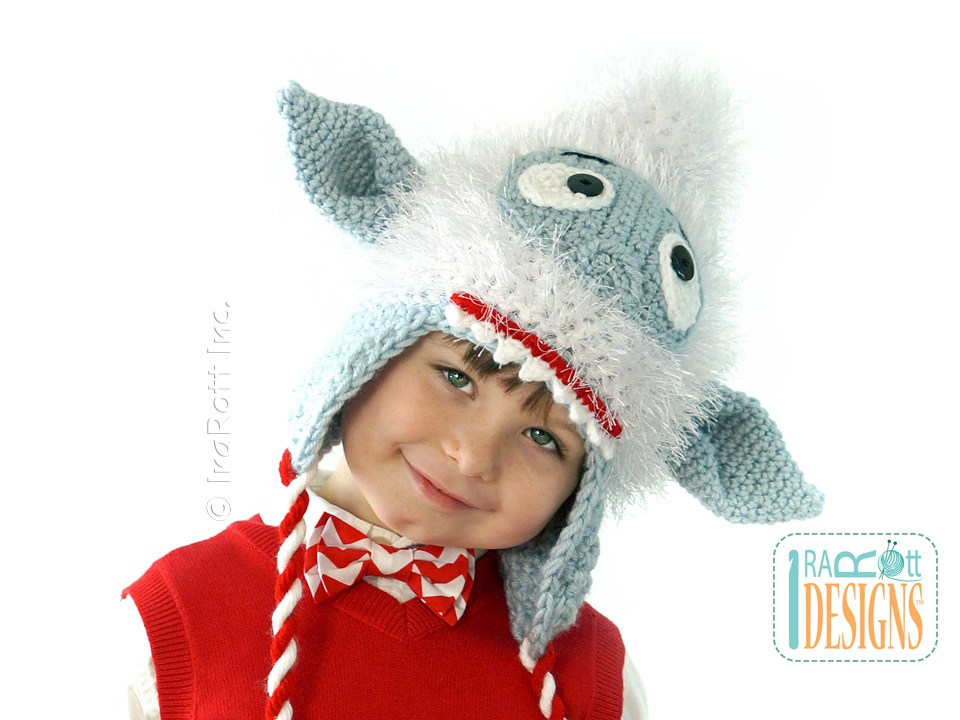 Snowball The Sasquatch Monster Hat Pdf Crochet Pattern Irarott Inc