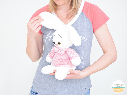 Sunny The Chubby Little Easter Bunny Amigurumi PDF Crochet Pattern With Instant Download by IraRott