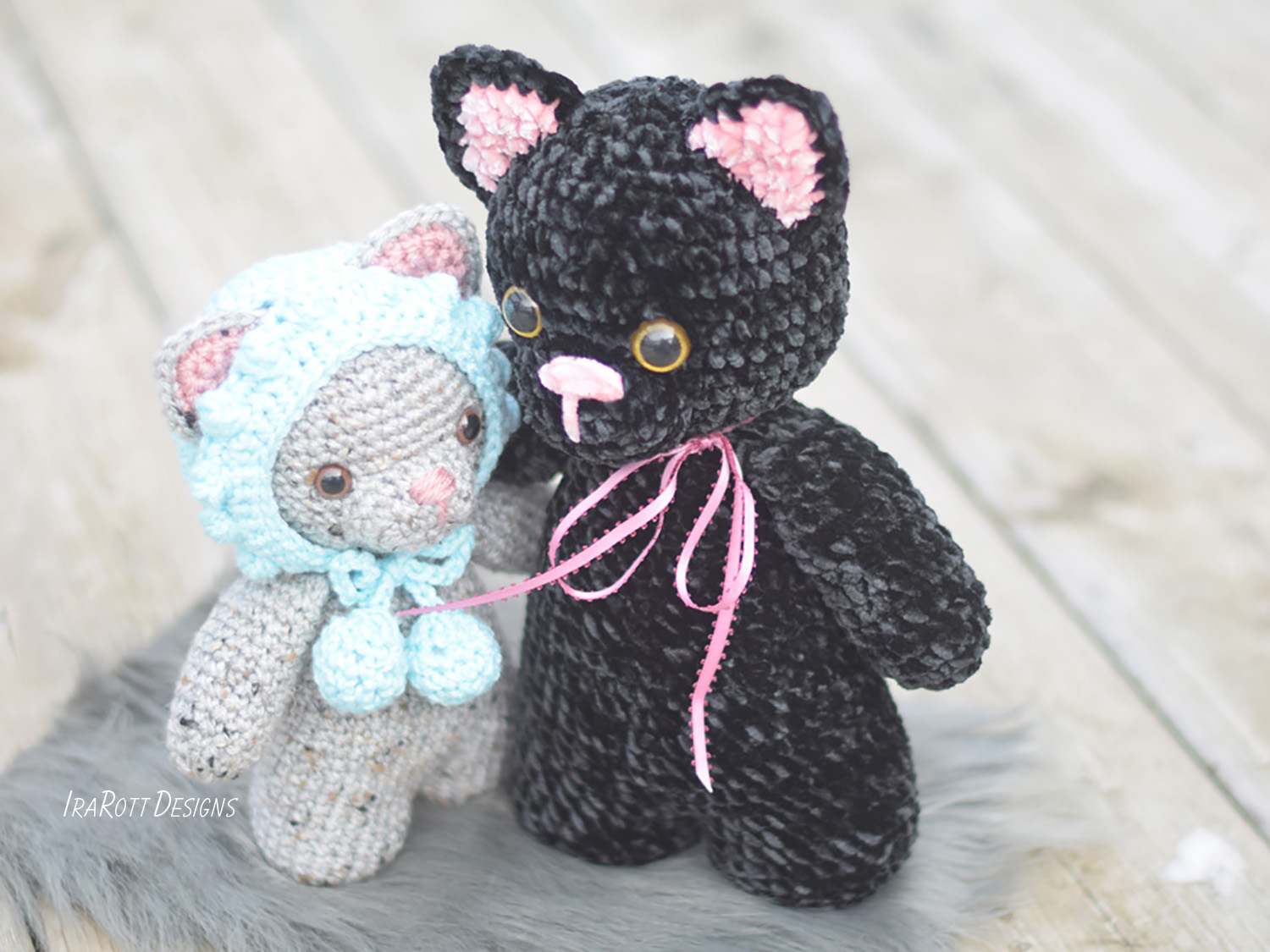 Sassy The Chubby Little Kitty Amigurumi PDF Crochet Pattern With Instant Download by IraRott
