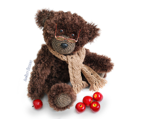 Teddy Bear Stuffed Animal Crochet Pattern by Irarott
