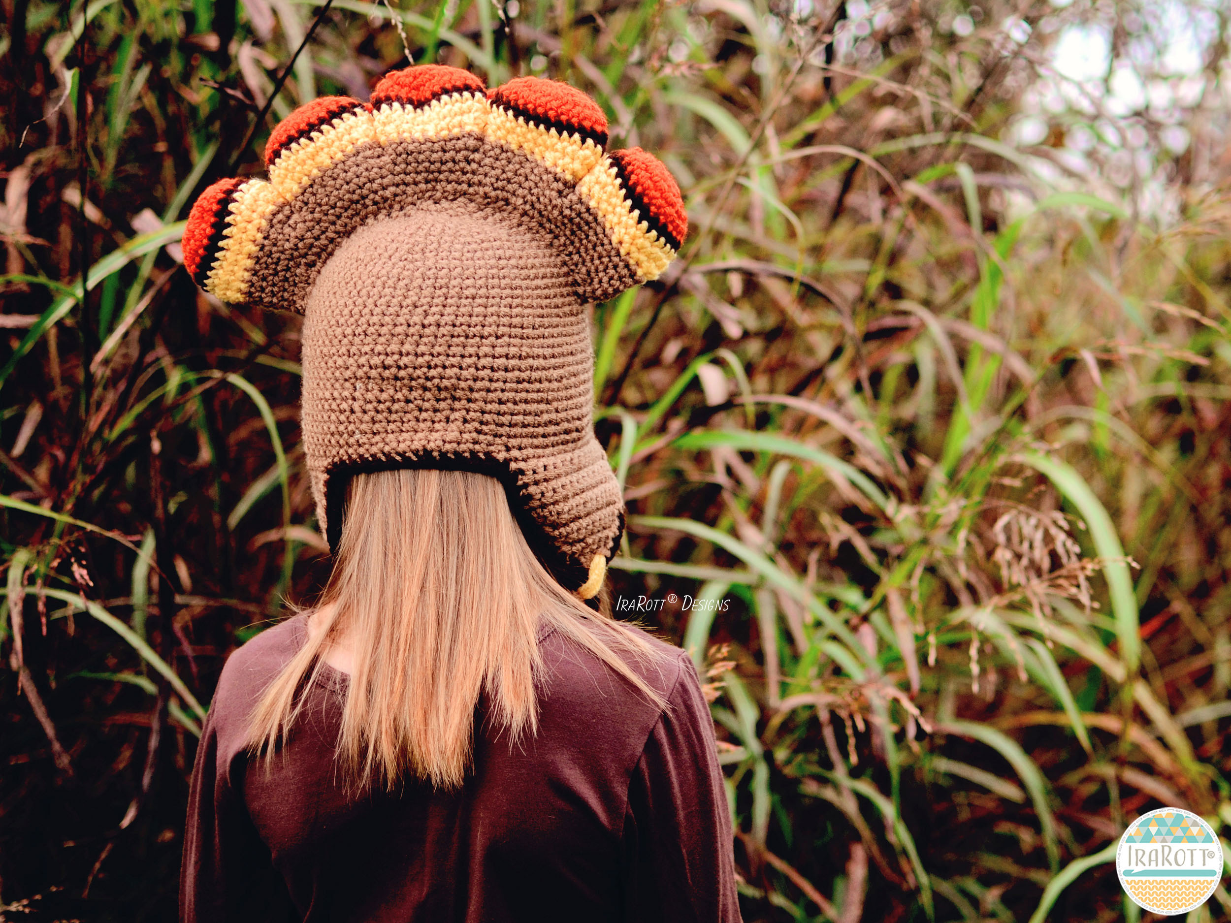 Dindon The Turkey Hat Pdf Crochet Pattern Irarott Inc