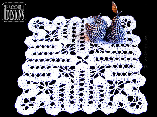Bruges Lace crochet doily by IraRott