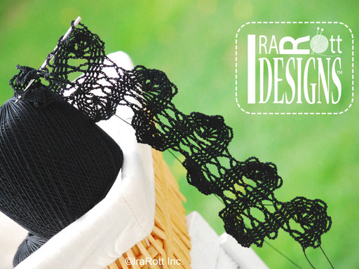 bruges lace crochet tape by irarott