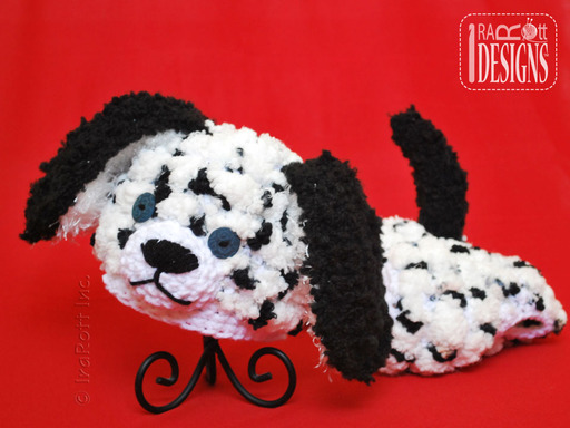 Dalmatian Puppy Dog Baby Hat Set with Diaper Cover designed and made by IraRott